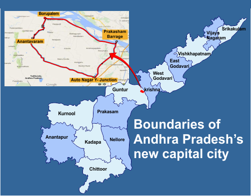 Locations of Hyderabad City Center 40 Skyscrapers