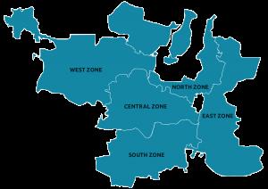 Evolution of Municipalities in Hyderabad City