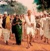 Gandhi's satyagraha