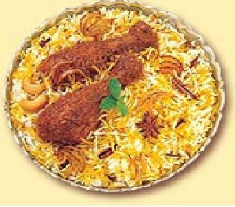 Whether to Eat Mutton or Chicken Biryani?