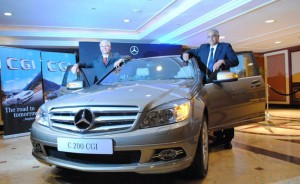 Mercedes benz introduces c200 cgi in city hyderabad for Used mercedes benz in hyderabad