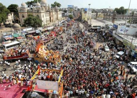 Ganesh Processions – Traffic Restrictions in Hyderabad