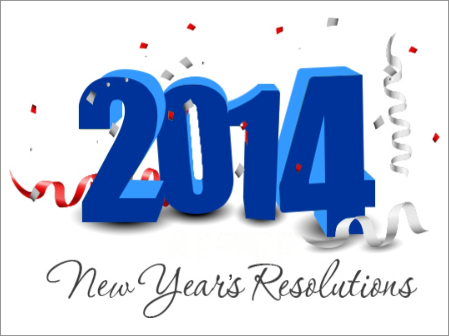 It's Time To Make New Year Resolutions