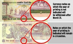Pre-2005 currency notes